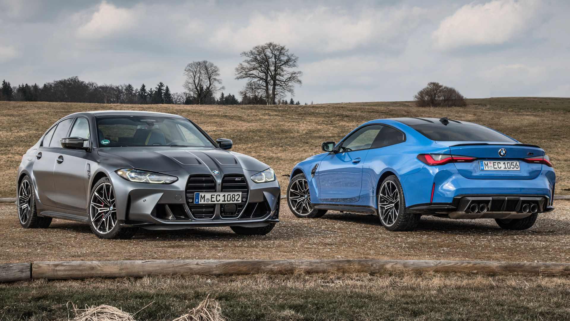 BMW rear-wheel-drive M3 Sedan and M4 Coupe